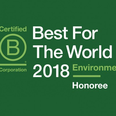 B Corp Best for the World Environment
