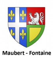 Blason MAUBERT-FONTAINE